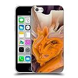 Head Case Designs Offizielle Haroulita Gelbe Blueten Blumige Panne Soft Gel Hülle für iPhone 5c