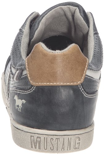 Mustang Mustang Herren Schnürer - Sneaker, , taglia Grigio (Grau (stein 200))