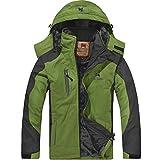 Softshelljacke Wander Klettern Skijacke Oberbekleidung Wasserfeste Mantel mit Kapuze Outdoor Skifahren Regenjacke Herren
