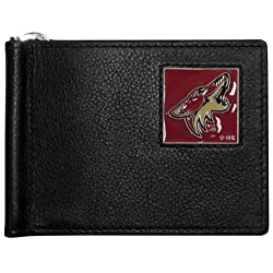 NHL Phoenix Coyotes Leather Bill Clip Wallet