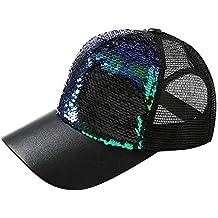 Amazon.es  Sombreros Para El Sol - Negro 3d563ea91f5