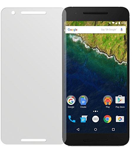 dipos I 2X Schutzfolie matt passend für Huawei Google Nexus 6P Folie Bildschirmschutzfolie