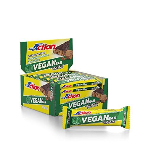 ProAction Vegan Bar (Mousse alla Nocciola) - Confezione da 20 barrette