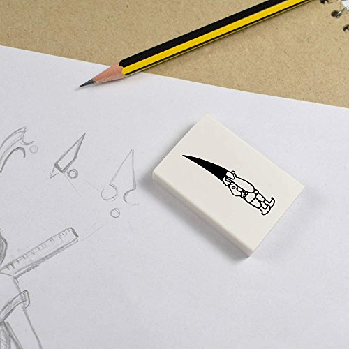 Azeeda-2-x-45mm-Curious-Gnome-ErasersRubbers-ER00017255