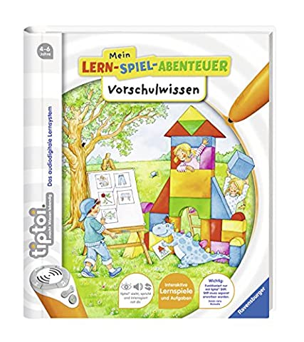 tiptoi® Vorschulwissen (tiptoi® Mein Lern-Spiel-Abenteuer)