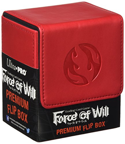 Preisvergleich Produktbild Ultra Pro 84700 - Force of Will Flame Magic Stone Flip Box, Kartenspiel