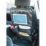 Organizador BTR para asiento trasero de automóvil soporte para reproductor de DVD tablet dispositivo multimedia organizador para carrito organizador de viaje