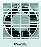 Vortice 11211 Aspiratore Elicoidale Punto Muro/Vetro con Timer, Bianco