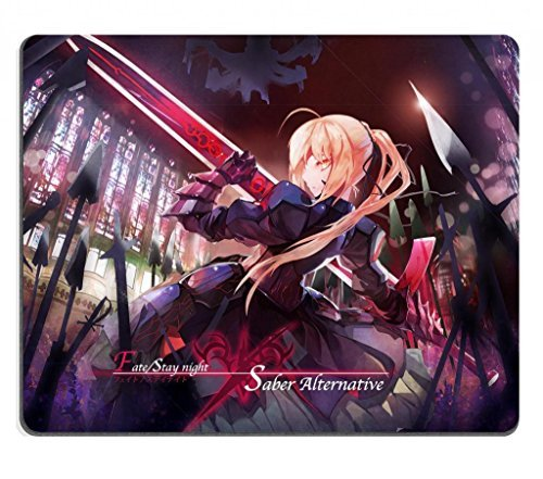 Fate Stay Night Zero 64 Alter Saber Alternative Type-Moon Anime Game Gaming Mouse Pad