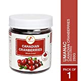 UMANAC Canadian Dried Cranberries 250G