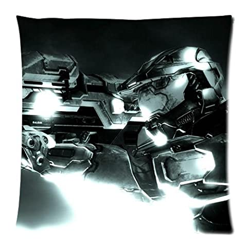 Halo 3 Spartan 117 With Spartan Laser Pillowcase/Kissenbezüge Custom Pillow case/Kissenbezüge Cushion Cover 18 X 18 Inch Two Sides