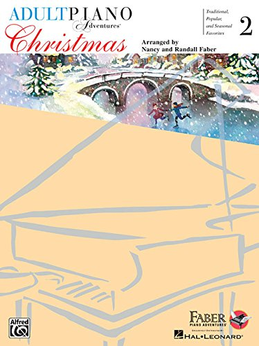 Christmas for All Time - Book 2 with Enhanced CD: Adult Piano Adventures