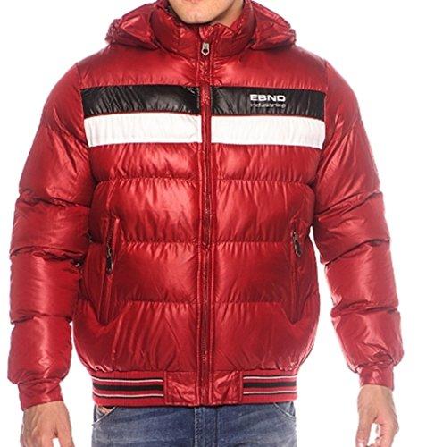Veste d'hiver Taille S à XL, Aspect Veste Duvet, Veste en Duvet s M L XL XXL - Rouge - 52