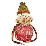 iStary Weihnachtsgeschenk Haus Geschenk Süßigkeits Tasche Weihnachtsdekoration Kindergeschenk Tasche Snack Süßigkeiten Christmas Geschenk Socken Süßigkeiten Taschen