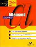 ALLEMAND 2NDE. Exercices
