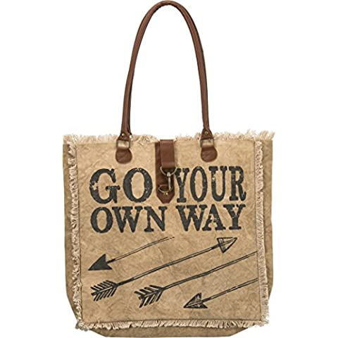 Primitives By Kathy Canvas Tote Bag Go Your Own Way