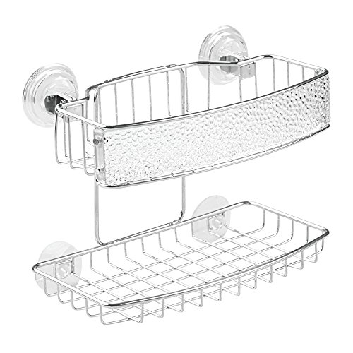 interdesign-rain-power-lock-suction-bathroom-shower-caddy-for-shampoo-conditioner-soap-clear