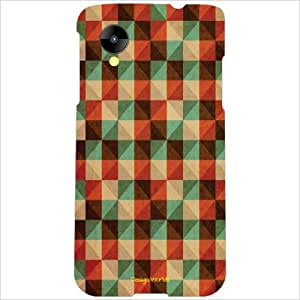 Design Worlds - LG Nexus 5 LG-D821 Designer Back Cover Case - Multicolor Ph...