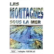 Carte géologique : Les montagnes sous la mer
