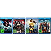 Man of Steel + Dawn of Justice + Wonder Woman + Justice League [Blu-ray Set] DC Universe Paket