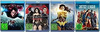 Man of Steel + Dawn of Justice + Wonder Woman + Justice League [Blu-ray Set] DC Universe Paket