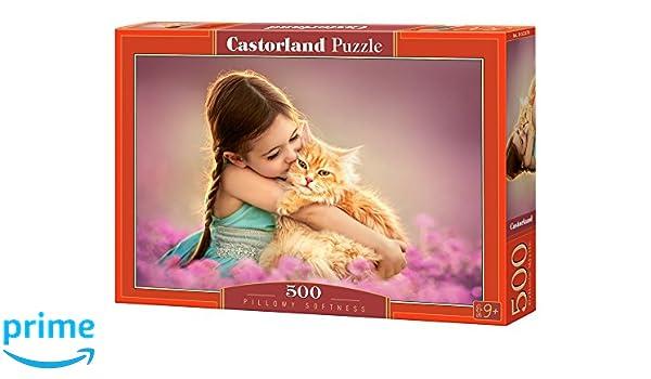 Castorland B-52370 Pillowy Softness Jigsaw Puzzle 500-Piece