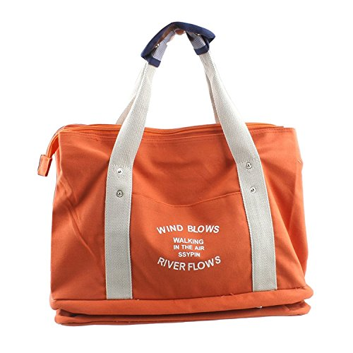 HT , Damen Schultertasche Orange