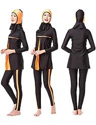 islamique Femme hijab maillots de bain une couverture complète musulmane maillots de bain Natation Plage Maillot de bain