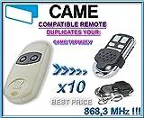10-x-CAME-TOP862NA-CAME-TOP864NA-Universal-mando-a-distancia-de-repuesto-8683-mhz-transmisor-llavero-para-cdigos-fijos-clone