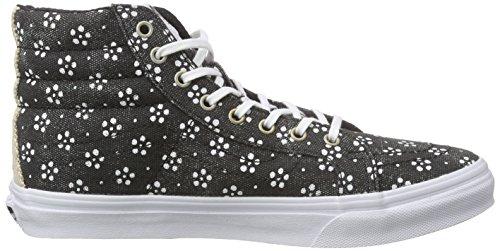 Vans Unisex-Erwachsene Sk8-Hi Slim Sneaker Schwarz (batik/black)
