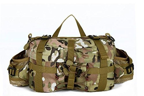 Zll/Outdoor Army Fan Pack Sport Satteltasche Multifunktions-tragbar Taille Tasche Messenger Tasche Brust Pack CP