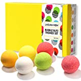 Lagunamoon Bath Bombs Gift Set,Natural Organic Handcrafted Fizzy Bath Bombs with Essential Oils, Great Gift Idea for Women Relaxation, Kids for Fun, Men sore Muscles Relief