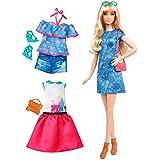 Barbie - Muñeca fashionista, ultra femenina (Mattel DTF06)