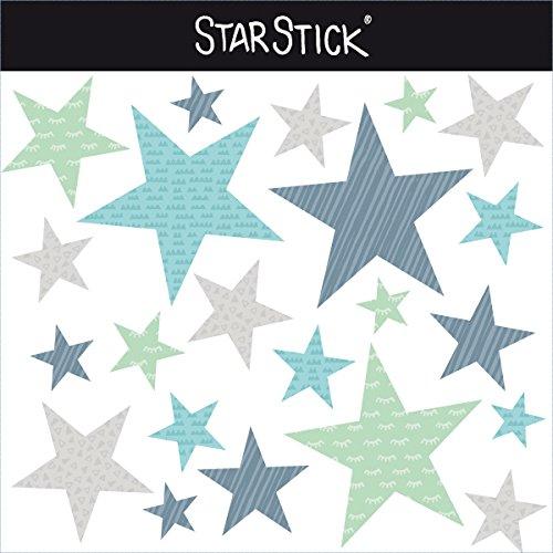 StarStick - 100 Estrellas combinación mint - Vinilos bebé