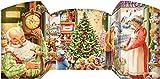 Weihnachtsmann Freistehender Adventskalender