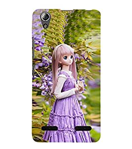 99Sublimation Long with Long Hair 3D Hard Polycarbonate Back Case Cover for Lenovo A6000 Plus