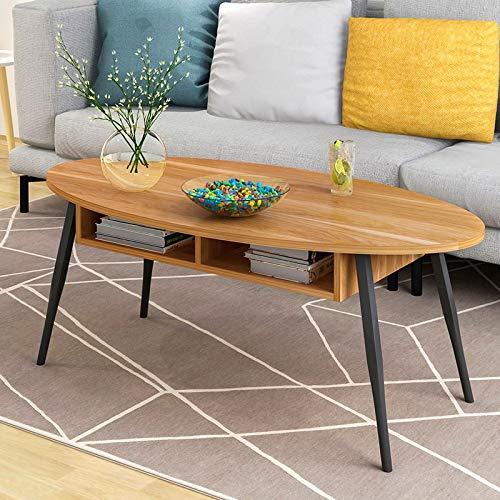 Ahorn Runde Tisch (ANDIAOG-Home Couchtisch einfache Mini Seite EIN Paar Schlafzimmer kleinen runden Tisch Sofa Beistelltisch kreative Nachttisch -100 * 50 * 43,5 cm (Color : D))