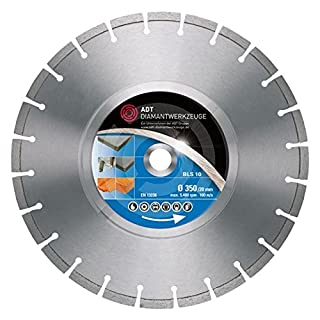 BLS 10Standard Diamond Cutting Disc Laser Welded/900mm 25.4mm Hole