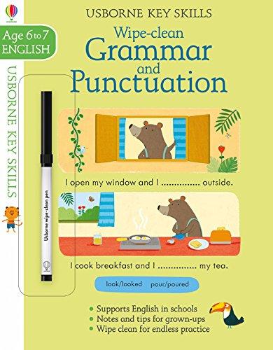 Wipe Clean Grammar And Punctuation 6-7 (Key Skills)