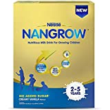 Nestlé NANGROW Nutritious Milk Drink for Growing Children (2-5 years), Creamy Vanilla, 400g Bag-In-Box Pack
