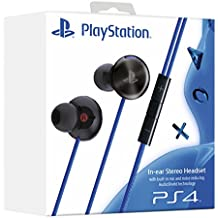 PlayStation 4 In-Ear Stereo Headset, schwarz