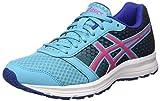 Asics Patriot 8 W, Zapatillas De Running Mujer, Multicolor (Aquarium/Sport Pink/Deep Blue), 37 EU
