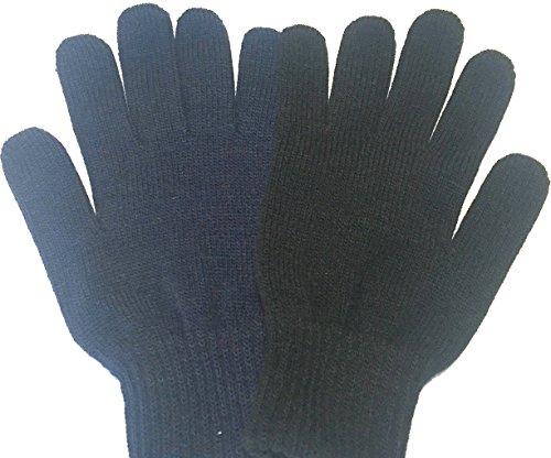 Unisex Guantes invierno lana acrílico. Disponible