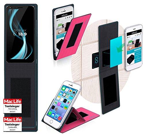 reboon Allview X4 Soul Infinity L Hülle Tasche Cover Case Bumper | Pink | Testsieger