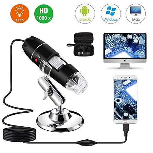 Microscopio Digital USB 40X a 1000X
