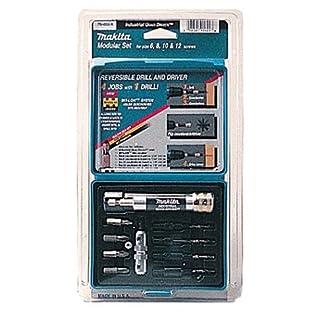 Makita Power Tools 11 Piece Industrial Quad-Driver Modular Set 784859A