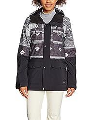 O 'Neill PW Cluster Jacket–Chaqueta de esquí, otoño/invierno, mujer, color negro, tamaño M