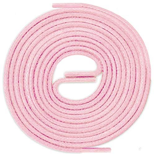 LACCICO Cerato - Gewachste Schnürsenkel, Farbe:Rosa;Länge:120 cm ()