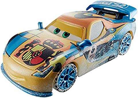 Mattel - CARS Véhicule Ice Racers Miguel Camino