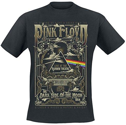 Pink Floyd Live At Rainbow Theatre T-Shirt schwarz Schwarz
